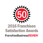 Franchise Business Review Top 50 2016